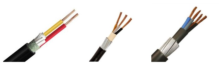 huadong low price 6mm armoured cable for sale