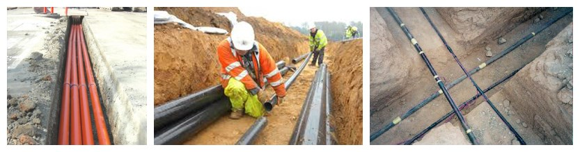 low price xlpe underground cable installation