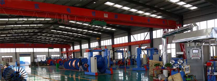 the factory of low price armoured cable manufacturers huadong